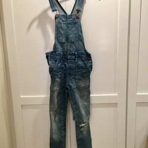Madewell Fitted Overalls